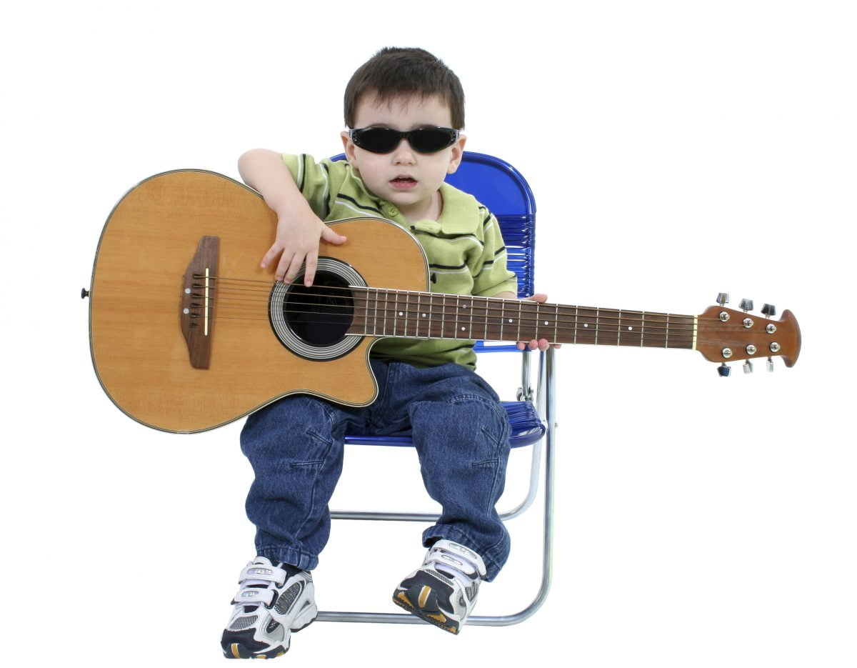 Гитара и дети фото