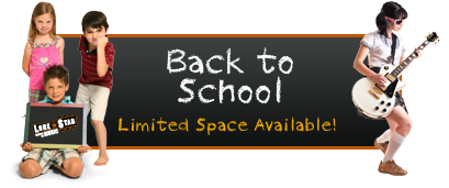 Back to School - Limited Space Available!