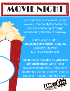 Lakeway Movie Night! Family Friendly