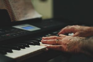 Playing Piano Music lessons austin